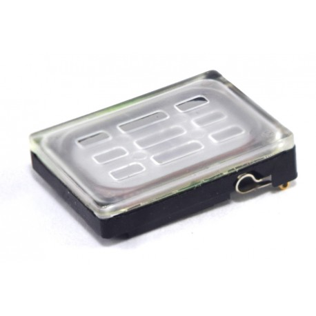 Altavoz rectangular y caja de resonancia