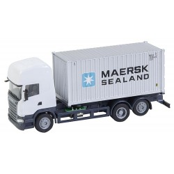 Lorry Scania R 13 TL Maersk container