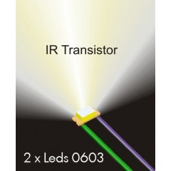 IR Phototransistors 0603 wired