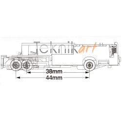 Chassis BM-03 (38-44mm)