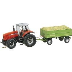 Tractor con remolque bajo