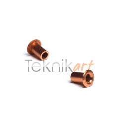 10x Casquillos de cobre Ø1mm