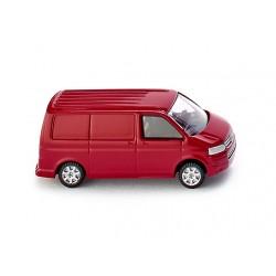 Furgoneta Volkswagen T5 Transporter vermella