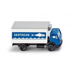 Camió MB frigorífic amb remolc