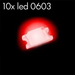 10x Leds 0603