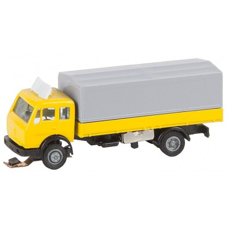 Truck MB SK yellow and gray canvas