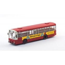 Autobús Pegaso 6038 de Gijón con publicidad de Caja de Ahorros