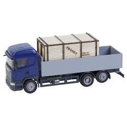 Camión Scania R 13 HL con plataforma
