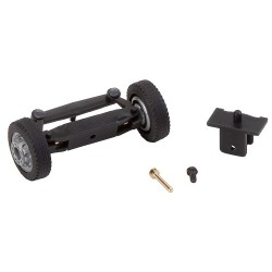 Front axle, completely assembled for lorries / buses (with NQ wheels)