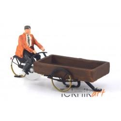 Cargo Bike H0 (Mounted model)