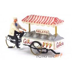 Santa Claus H0 (Mounted model)